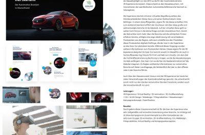 50. Autoland Saar – eine interaktive VR Experience