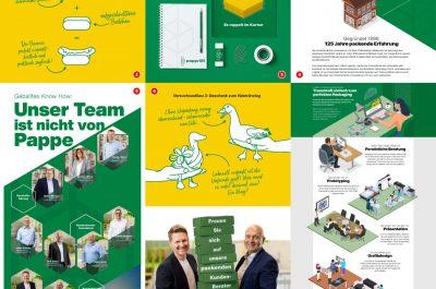 31. Hager Papprint GmbH Redesign Unternehmens-Corporate und Webauftritt