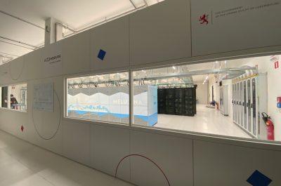 """16. Gestaltung der Räumlichkeiten für den High-Performance-Computer """"MeluXina"""""""