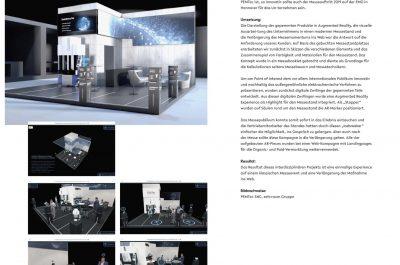54. PEMTec – interaktiver Messestand